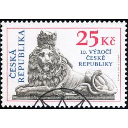 10. výročí České republiky...