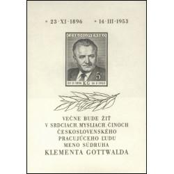 Úmrtí Klementa Gottwalda -...