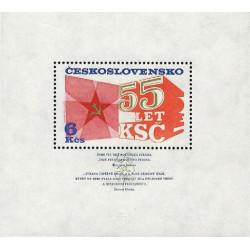 55. výročí založení KSČ -...