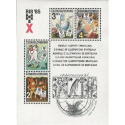 X. BIB 1985 - čistý - aršík...