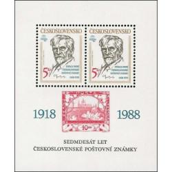 70 let čs. poštovní známky...