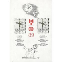 BIB 1989 - čistý - aršík -...